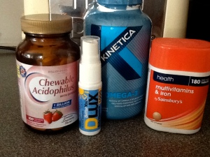 A selection of supplements.......