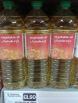 Vegetable oil good (rapeseed oil)