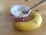 Banana or yogurt