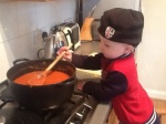 Wee Man Chef, fashioning vintage London Irish Hat